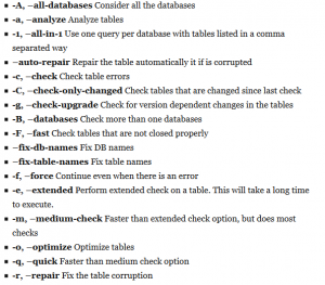 How To Fix Corrupted Table in MariaDB Database when Service not